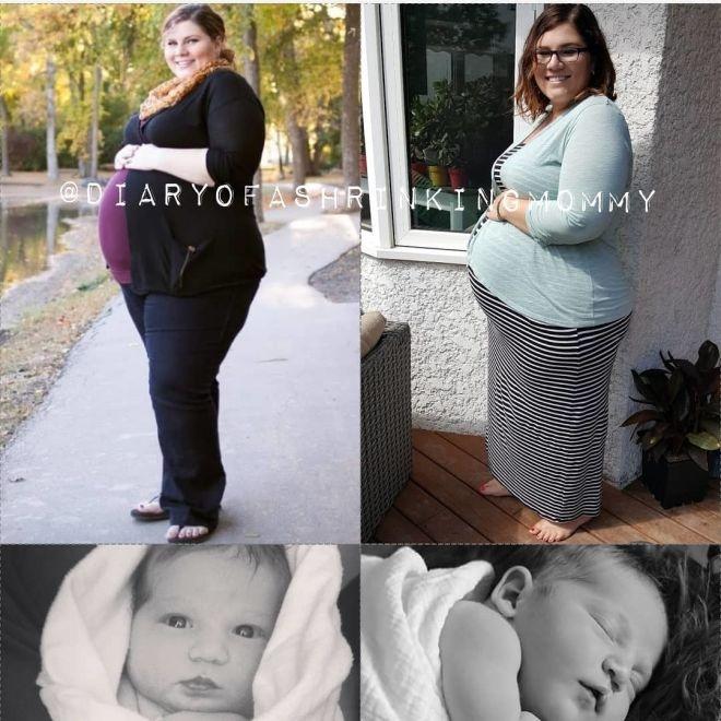 Мама двоих детей похудела на 90 кг