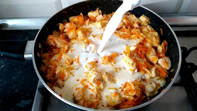 Когда не знаю что приготовить на УЖИН всегда готовлю это простое блюдо подходит к любому гарниру