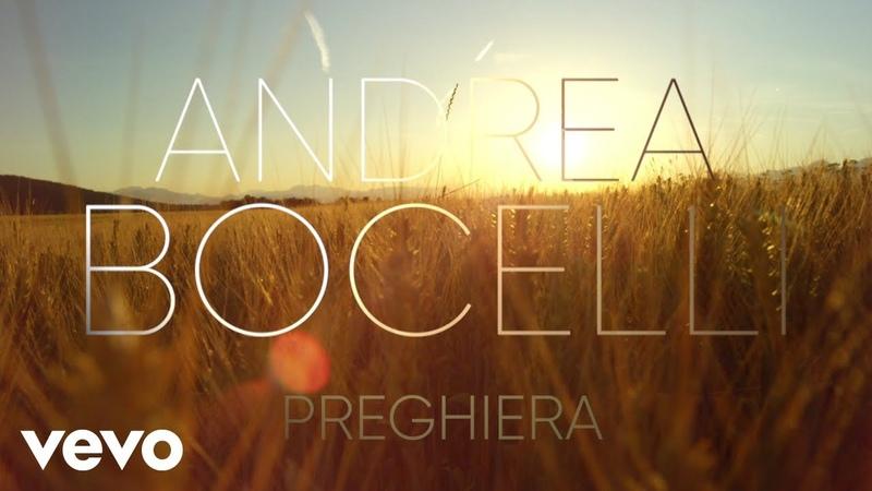 Andrea Bocelli Preghiera arr Mercurio Visualiser