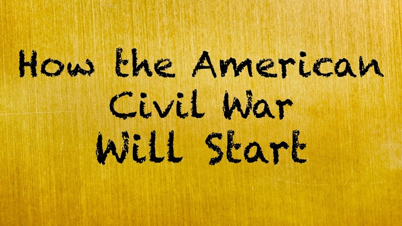 🔴 HOW THE AMERICAN CIVIL WAR WILL START A Coach Red Pill video