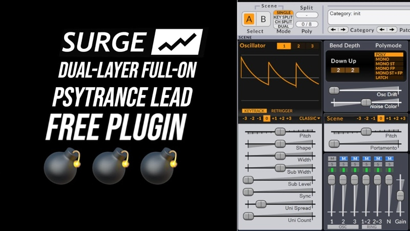 Layered Full-On Psytrance Leads with Vember Audio Surge (FREE Plugin!)