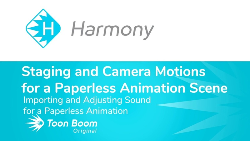 How to import and Adjust Sound for a Paperless Animation in Harmony