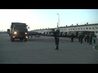 Убытие военно-медицинских специалистов ЮВО в Абхазию для развертывания полевого госпиталя