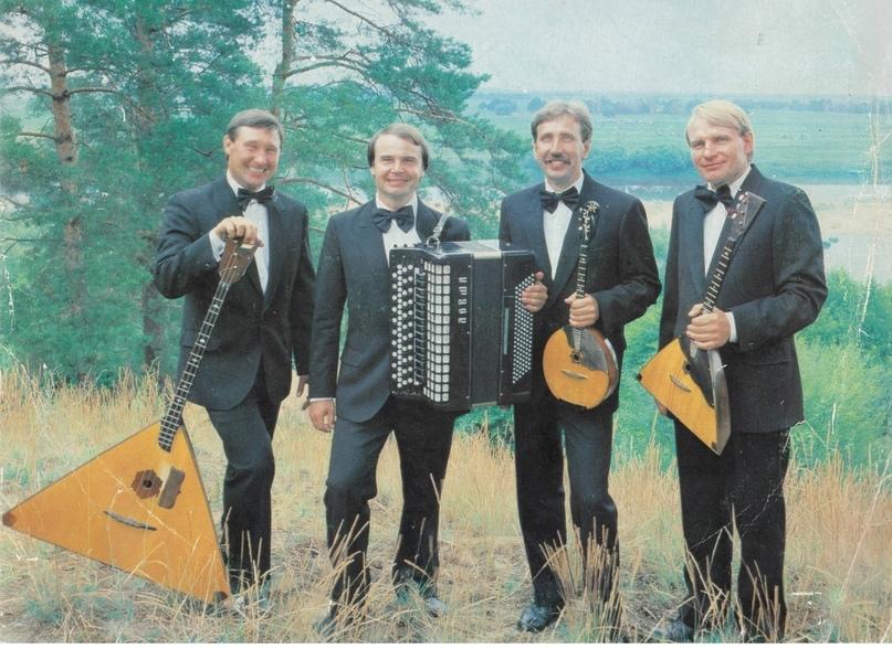 Квартет русских инструментов «Парафраз». 1990-е.