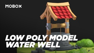 Modeling a Low Poly Water Well - Cinema 4D Tutorial