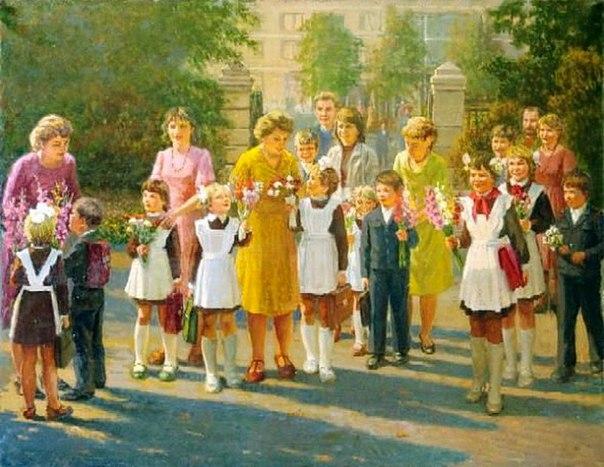 Как рассказать детям о празднике 1сентября Например, вот так:День знаний отмечается 1 сентября как государственный праздник в СССР и Российской Федерации с 1984 года.Первоначально день 1