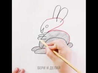Как научить ребенка рисовать с помощью цифр.
