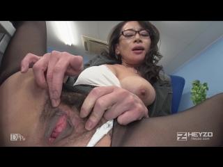 Ссыт на стул в офисе, лижет анус. Шикарная зрелка Rei Kitajima, great office sex. #Rimming. #Piss БЕЗ ЦЕНЗУРЫ! NO MOSAIC!