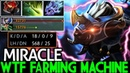 Miracle- Luna WTF Farming Machine 1100 GPM Double Rampage 7.20 Dota 2