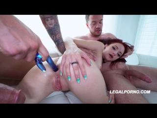 We shot Lola Fae first DP its only right we shoot her FIRST AIRTIGHT 3on1 Legal Porno