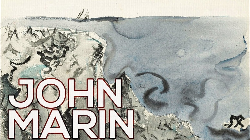 John Marin A collection of 99 works (HD)
