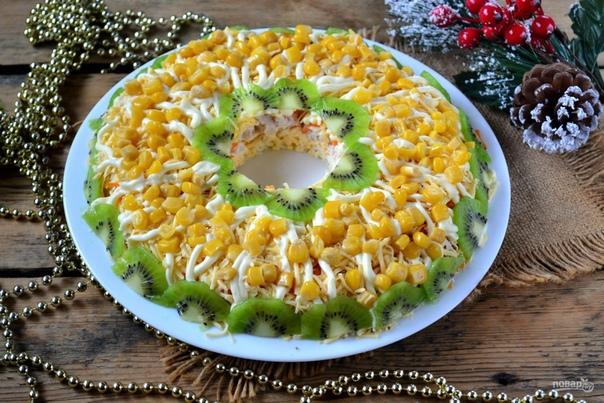 Куриный салат на Новый год Ингредиенты:.. | Ideas & Decor ...