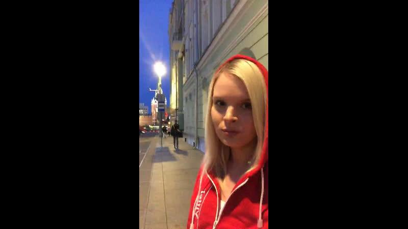 Анна Одегова — Live
