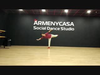 Contemporary dance. Юлия Голева. Школа танцев ArmenyCasa Белгород