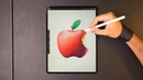 Drawing an Apple with Procreate 🍎