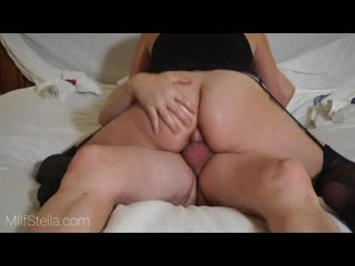 ANAL MOM TAKES ASS FUCK, MASSIVE CUM SHOT _ SexWithMilfStella EXCLUSIVE - anal анал сраку задницу жопу попу попку amateur
