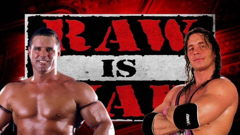 WWE 2K19 - Bret Hart vs British Bulldog, Raw Is War '97, Hell In A Cell Match