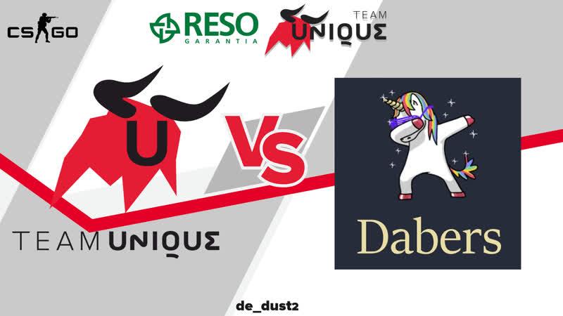 Team Unique vs Dabers на Alienware Game Arena Split 2