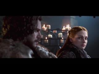 Игра престолов- Зима близко  официальная игра