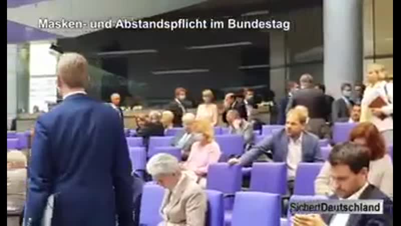 Noch bessere Aufnahmen aus dem Bundestag am 3 Juli 2020 hier