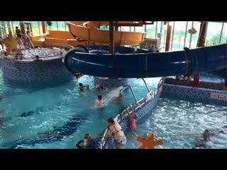 Приходите греться в аквапарк)