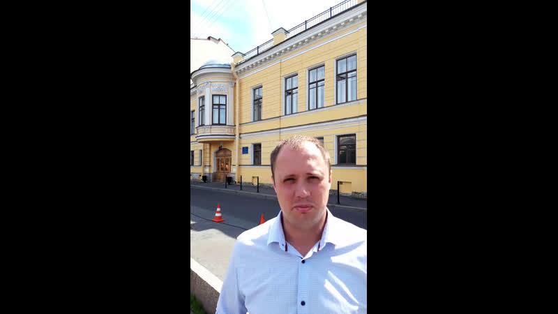 Вопросы о Николаевской больнице к Главному следственному управлению по СПб