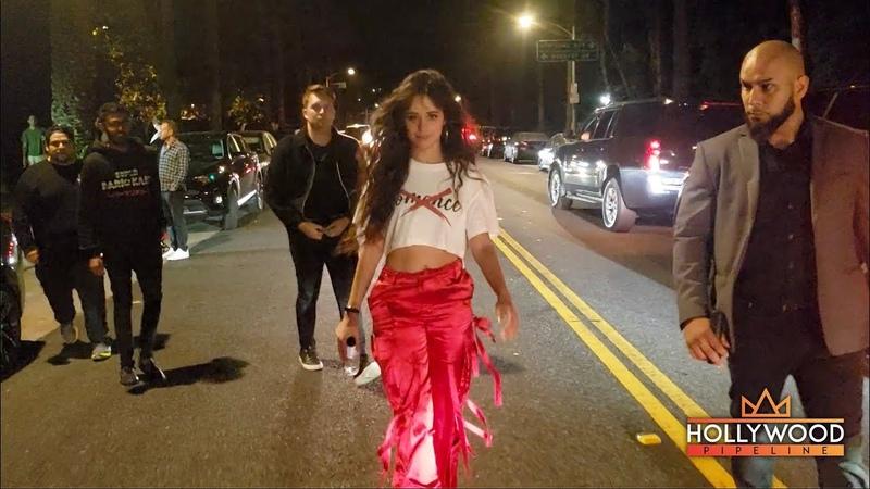 Camila Cabello Leaves a House Party In LA!