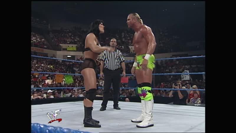 WWF SmackDown 02.09.1999 - Chyna vs Mr. Ass