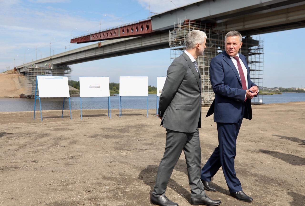 Министр транспорта оценил реконструкцию моста в Шексне