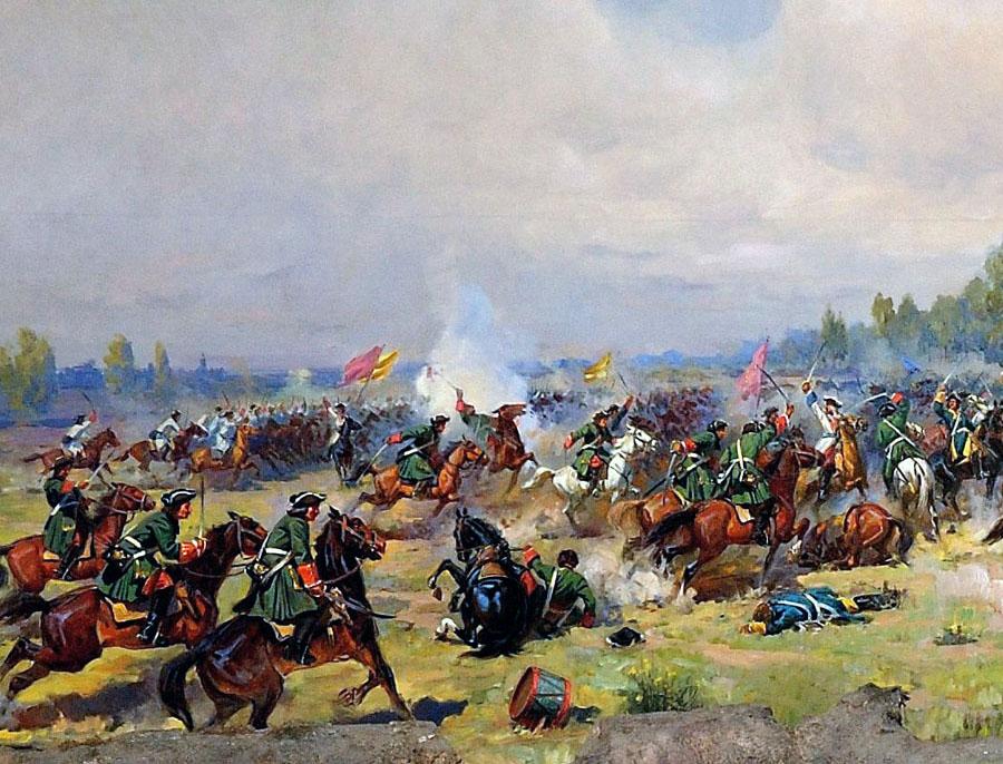 Картинки полтавская битва