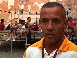 В каких условиях тренируются кубинские боксёры. Мотивация для всех