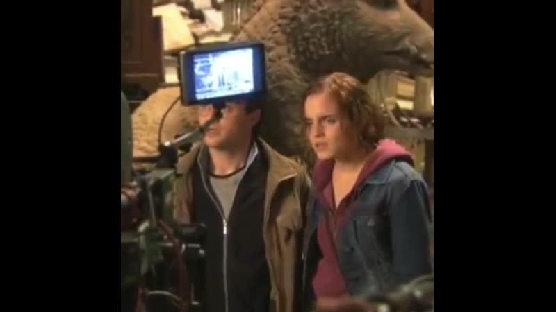 Гарри Поттер и Дары Смерти (маленький фрагмент)