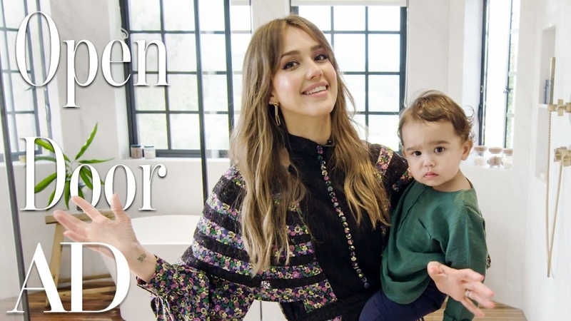 Inside Jessica Albas $10M Los Angeles Home | Open Door | Architectural Digest