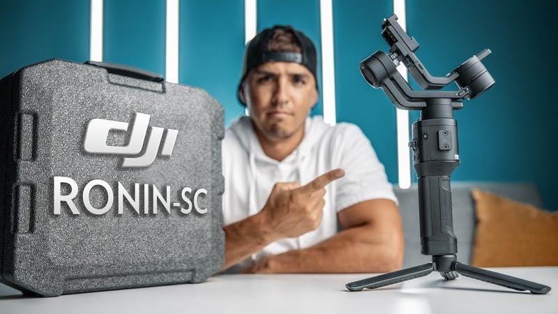 DJI Ronin-SC Review Test Footage! Better than Ronin-S