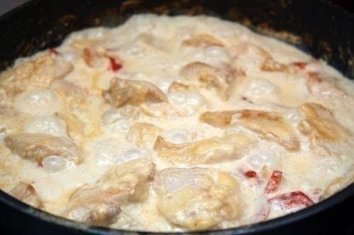 Куриное филе в кефире
