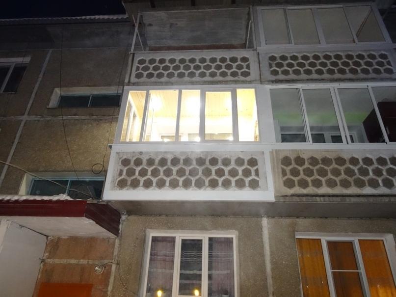Навёл красоту на балконе своими руками