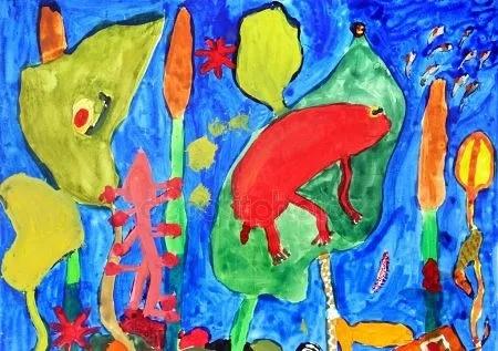 ЖИЗНЬ ПРОДОЛЖАЕТСЯ... - А мне Толик сказал, что я мерзко рисую, и что моими рисунками надо топить печку, - плачет Ванька, девятилетний сын моей подруги, на чьи удивительные работы я могу