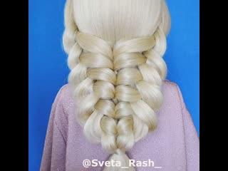 Красивые косы без плетения