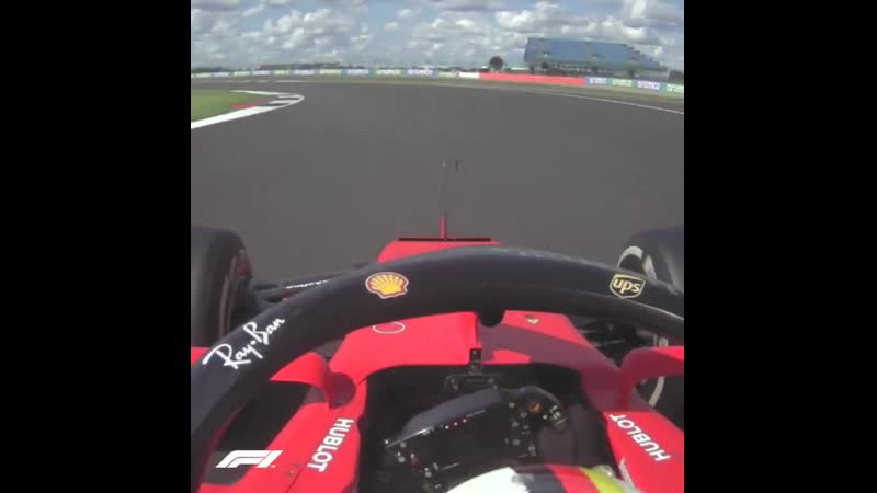 2020 British Grand Prix Vettel's tough race