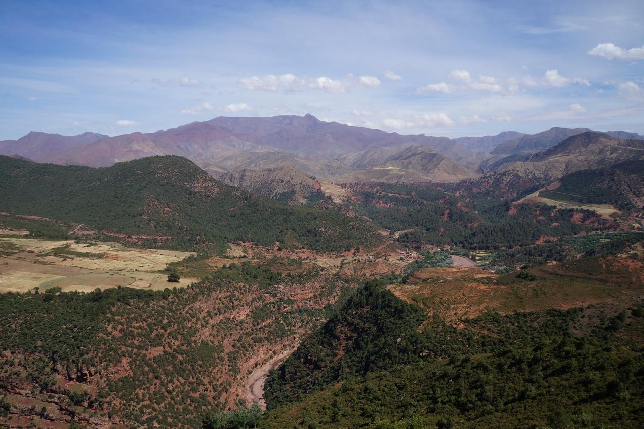 Атласские горы в Африке. Путешествие по ним