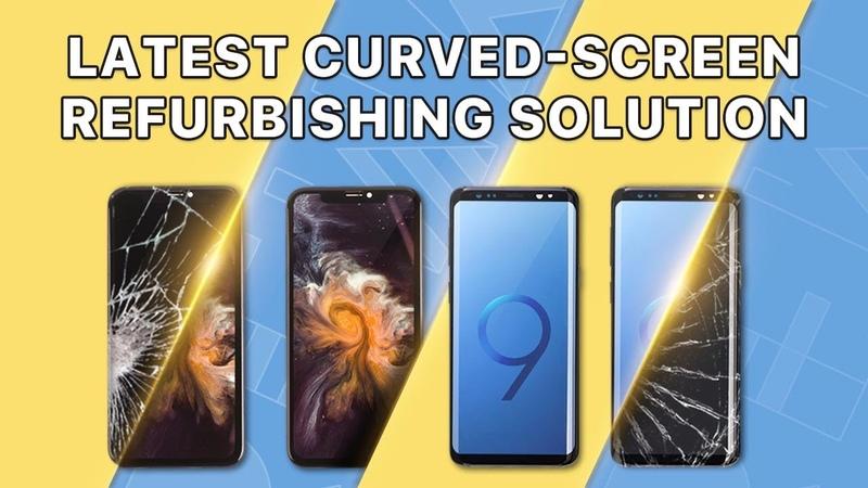 Samsung Galaxy S9S9 Cracked Screen Glass Only Repair - Refurbishing Solution V5.0