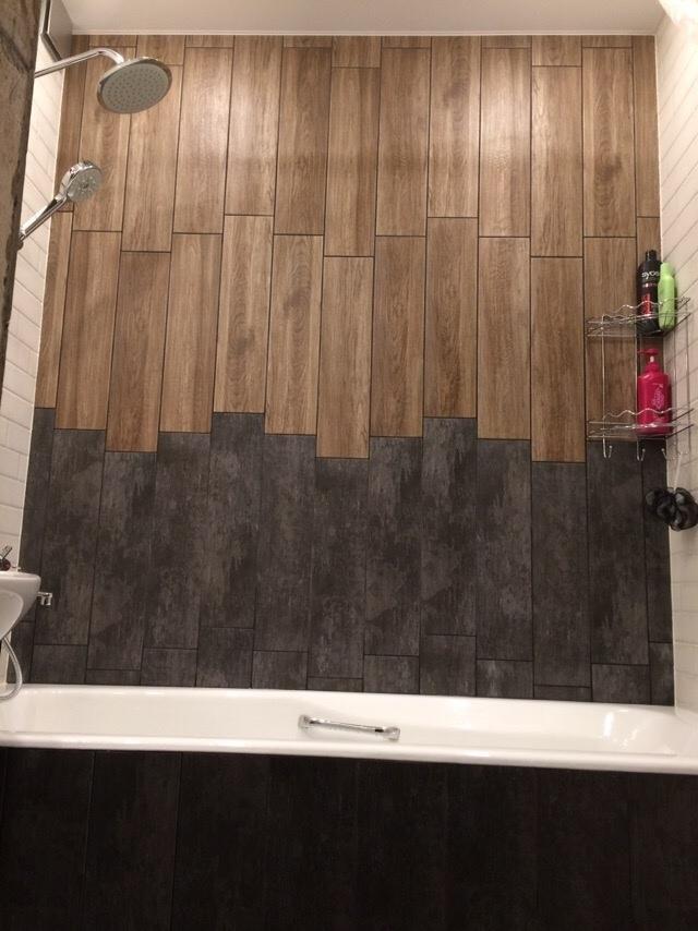 Сделали ремонт в едином стиле - санузел и ванная комната