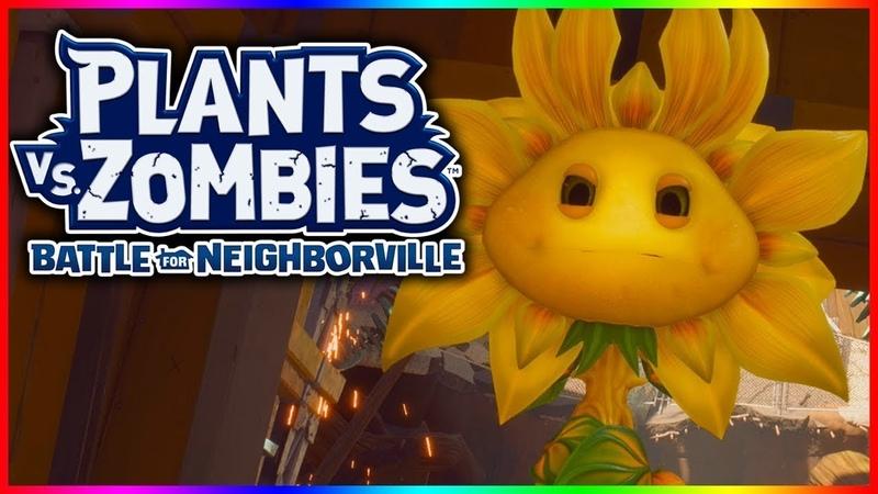 Plants vs. Zombies: Битва за Нейборвиль. 11 Серия: Зомби наготове. Босс: Королева Подсолнухов.