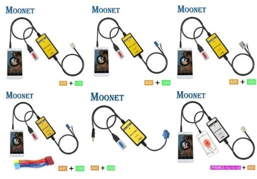 Китайский аналог YATOUR выбор под разные модели Возможность подключить к магнитоле авто usb флешку или слушать музыку че