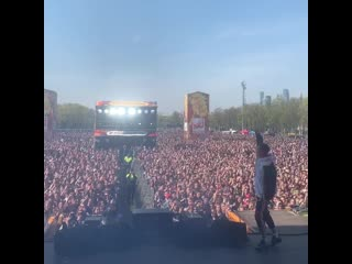ДЕТИ RAVE - ТУРБО ПУШКА (LIVE) HIP- HOP MAY DAY 2019 Moscow