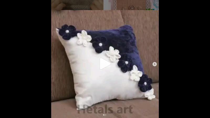Подушки на диван своими руками. Элементарно!