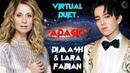 Dimash Lara Fabian Virtual Duet «ADAGIO»EN/KZ/RU ❤ Димаш и Лара Фабиан Виртаульный дуэт «АДАЖИО»