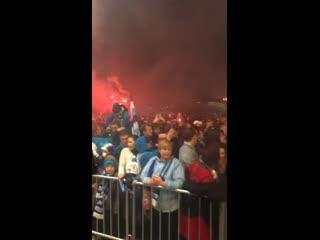 Огонь и сила в Пулково