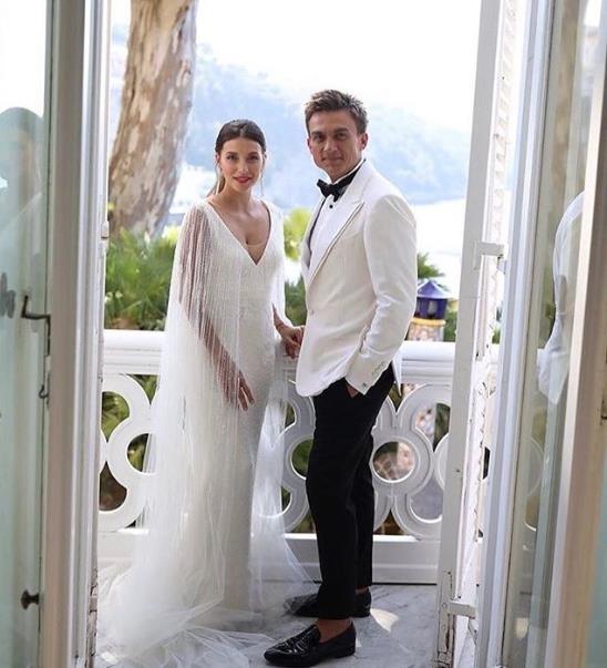 Сегодня Регина Тодоренко и Влад Топалов обменялись кольцами!