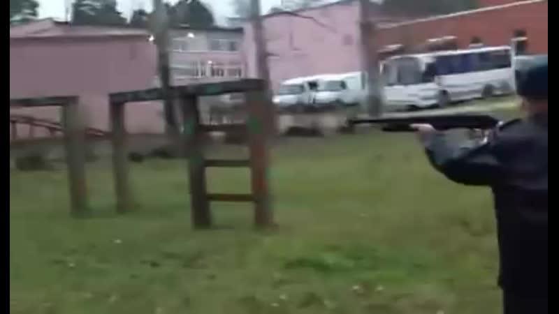 Стрельба из КС-23 Дрозд